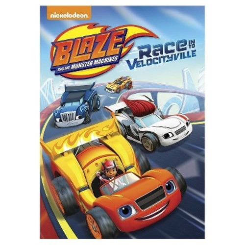 Blaze And The Monster Machines: Race Into Velocityville (DVD)