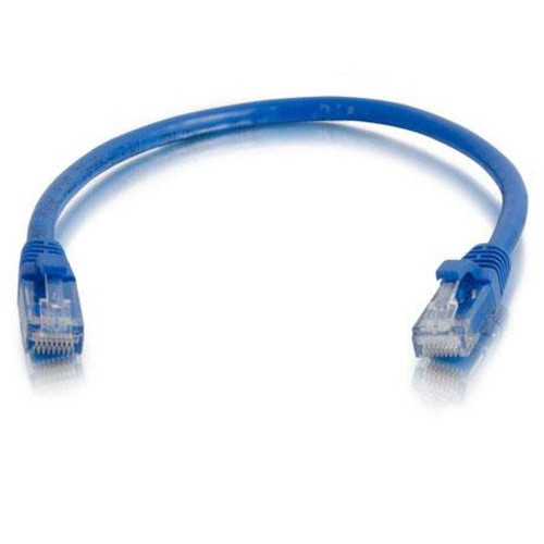 Cables to Go 5' / 1.52 m Cat6 Snagless UTP Unshielded Network Patch Cable, Blue 31341