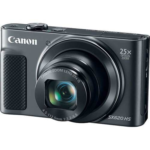 Canon PowerShot SX620 HS (Black) 20.2-megapixel digital camera with Wi-Fi and 25X optical zoom