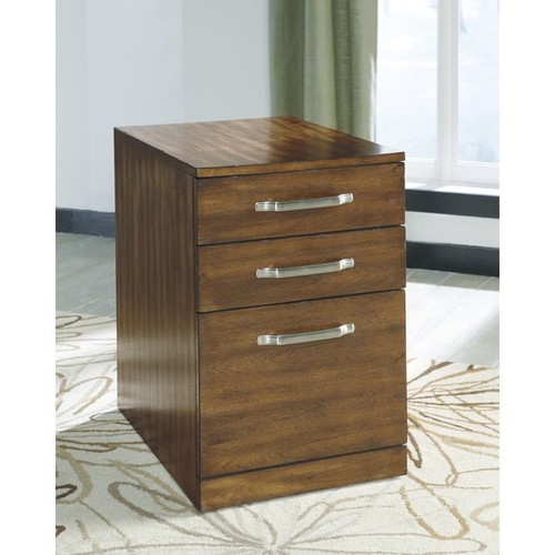 Signature Design by Ashley Filing Cabinets & File Storage Signature Design by Ashley Lobink Brown File Cabinet