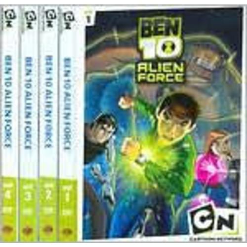 Ben 10: Alien Force - Volumes 1-4