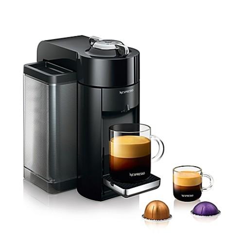 Nespresso by De'Longhi Evoluo Coffee and Espresso Maker in Black