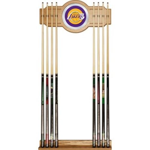 Los Angeles Lakers Billiard Cue Rack with Mirror