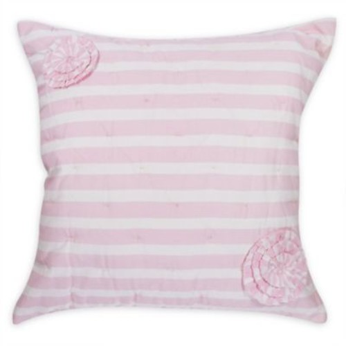 Hello Spud Paris Baby Throw Pillow in Pink