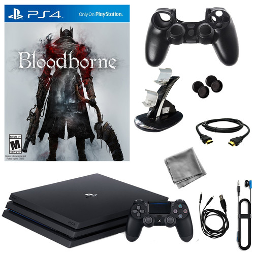 Sony PlayStation 4 Pro 1TB Console With Bloodborne & 8 in 1 Kit