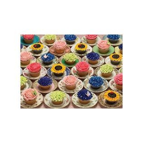 Cobble Hill Cupcakes & Saucers Jigsaw Puzzle (1000 Piece)