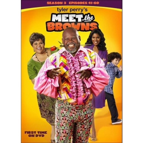 Tyler Perry's Meet the Browns: Season 3 [3 Discs] [DVD]