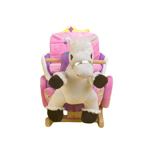 Princess Carriage Rocker by Rockabye