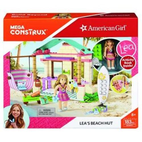 Mega Brands,Mega Construx,American Girl Mega Construx American Girl Lea's Beach Hut Playset