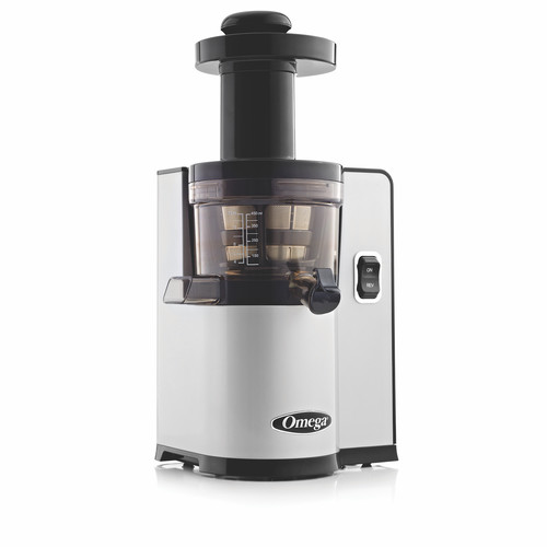 Omega Juicers VSJ843QS Low-Speed Dual Edge Vertical Masticating Juicer with Square Base
