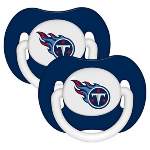 Baby Fanatic NFL Tennessee Titans Baby Fanatic 2-Pack Pacifiers