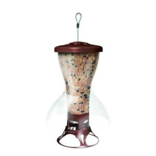 Perky-Pet Bird Shelter Squirrel-Proof Bird Feeder