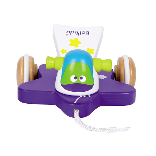 Boikido Wooden Comet Pull Toy