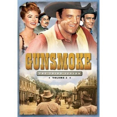 Gunsmoke: The Third Season, Vol. 2 [3 Discs] [DVD]