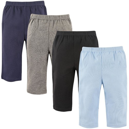 Luvable Friends 4 Pack Assorted Color Pants