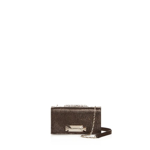 Convertible Embossed Leather Mini Bag