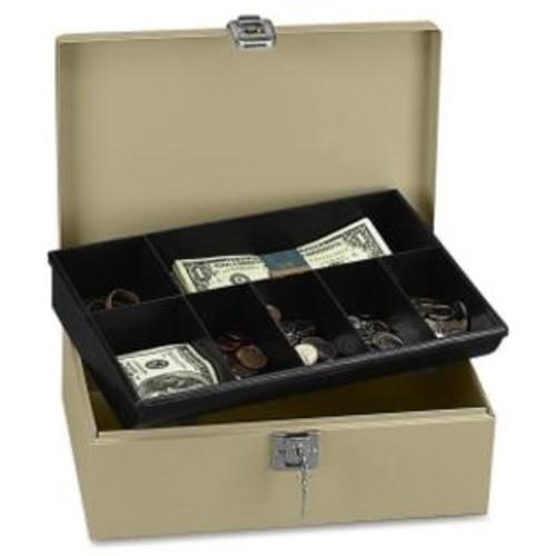 PM (Price/EA)PM SecurIT Lock'N Latch Cash Box, 2 Bill - 5 Coin - Steel