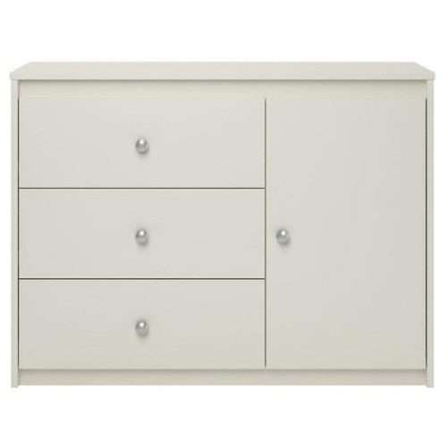 Cosco Elements 3 Drawer Storage Organizer - White