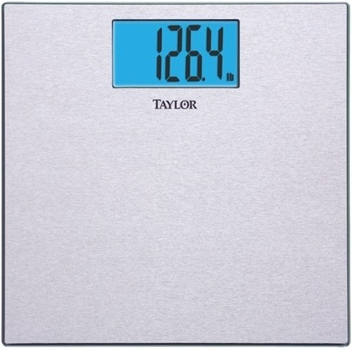 Taylor - Digital Bathroom Scale - Silver