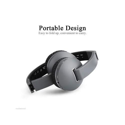 Wireless Headphone Bluetooth Stereo Bass Headset Earphone Mic For Smartphone