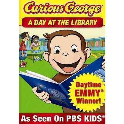 Curious George: A Day At The Library (DVD)