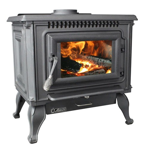 Ashley Hearth Products 2,000 sq. ft. EPA Certified Cast Iron Wood Stove with Blower