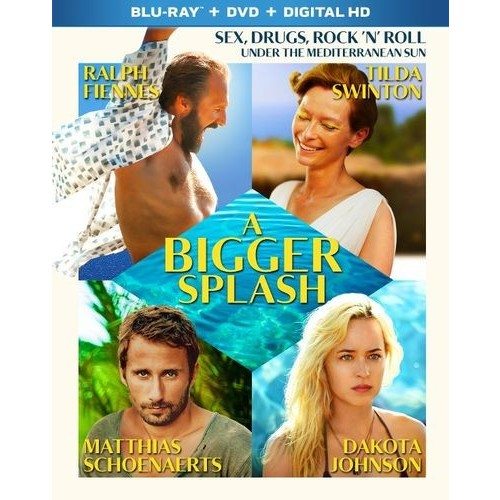 A Bigger Splash [Blu-ray/DVD] [2 Discs] [2015]