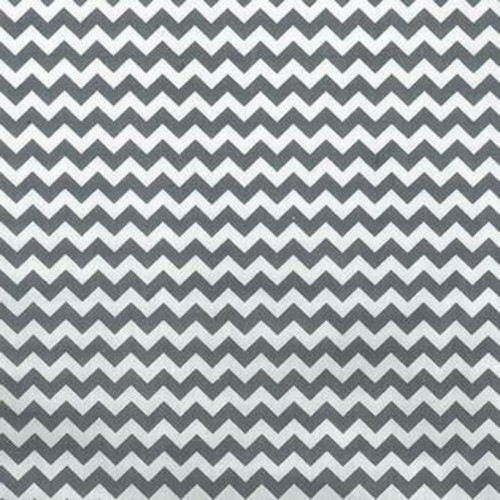 Trend Lab Gray And White Chevron - Crib Sheet