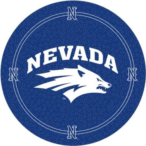 NCAA University of Nevada Padded Swivel Bar Stool