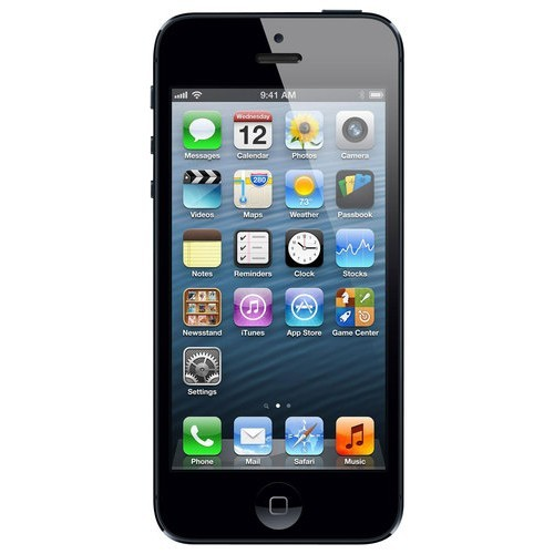 Apple - iPhone 5 Cell Phone with 16GB Memory (Unlocked) - Black