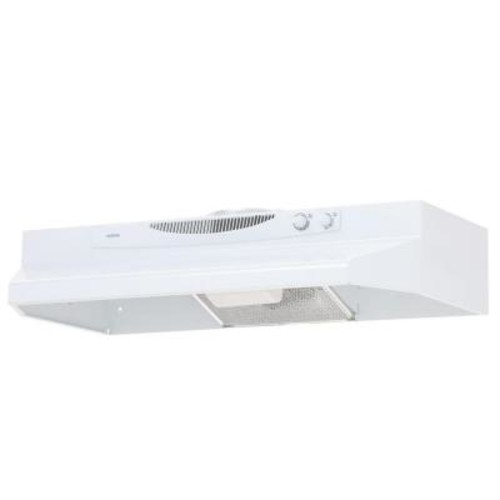 NuTone ACS Series 30 in. Convertible Range Hood in White