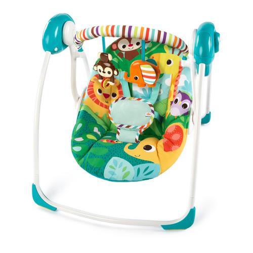 Bright Starts Safari Surprise Portable Swing