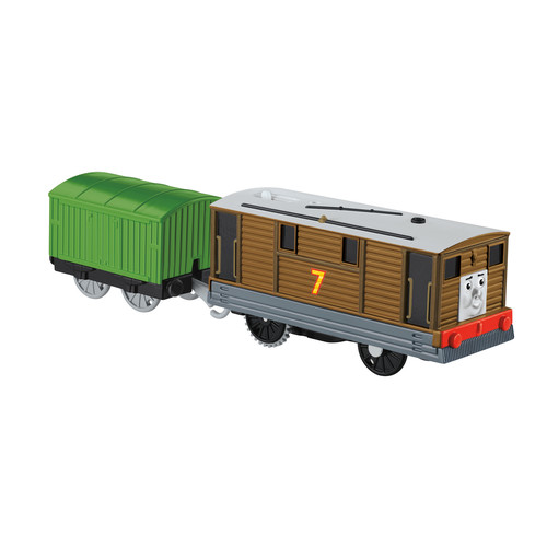 Fisher -Price Thomas & Friends TrackMaster Toby Motorized Engine