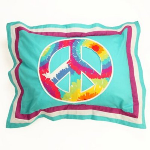 One Grace Place Terrific Tie Dye Standard Pillow Sham