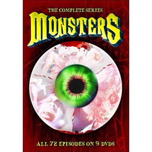 Monsters: The Complete Series [9 Discs] [DVD]