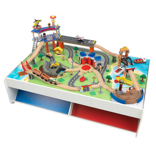 KidKraft Railway Express Train Set & Table