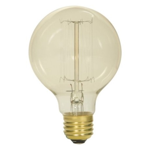 Satco Vintage 40W G25 Incandescent Light Bulb