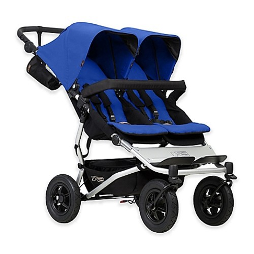 Mountain Buggy Duet V3 Double Stroller in Marine