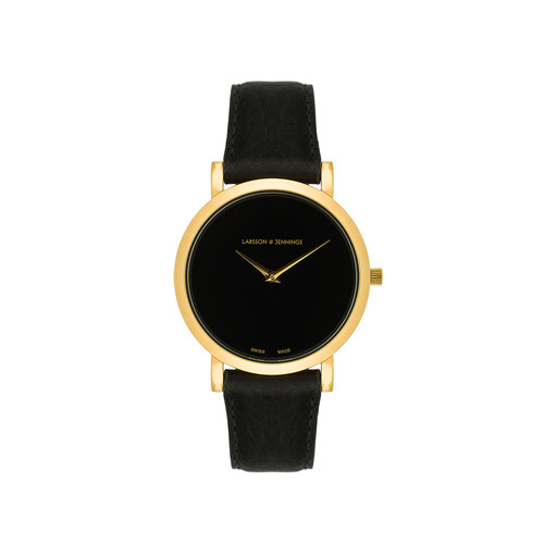 Larsson & Jennings 5th Anniversary Lugano Jette 33mm Watch in Gold & Black