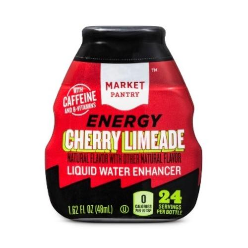 Cherry Limeade Liquid Water Enhancer 24 Servings - Market Pantry