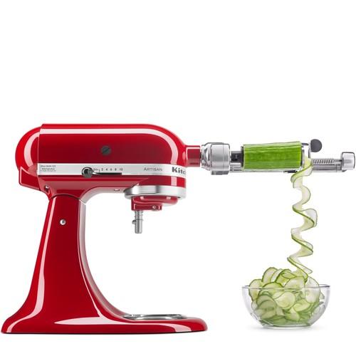 KitchenAid Spiralizer Attachment with Peel, Core \u0026 Slice