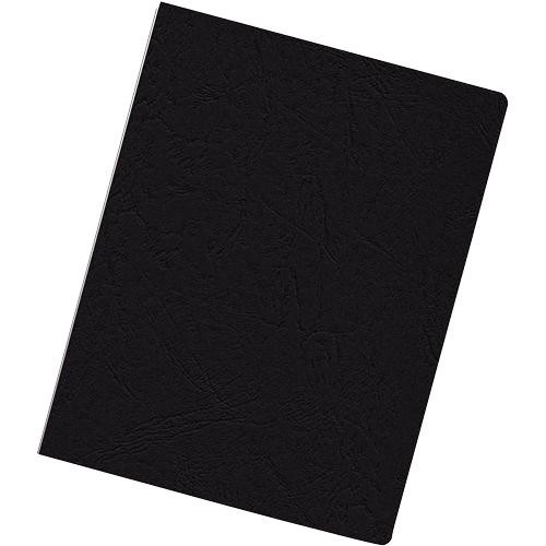 Fellowes Presentation Covers Oversize - Wood pulp - 222 x 286 mm - black - 200 pcs. binding cover (52128)