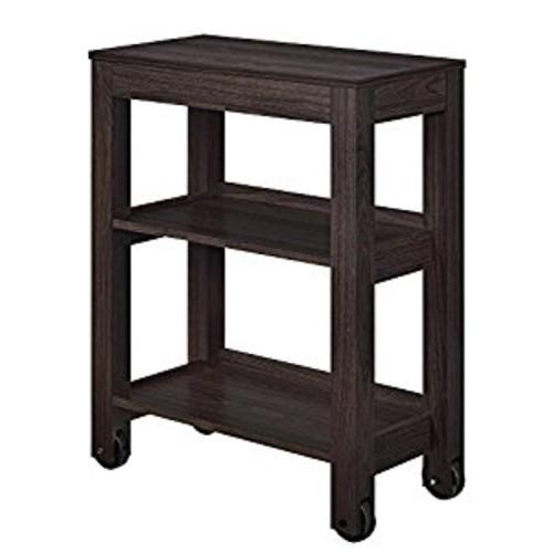 Altra Furniture Altra Parsons Wide Storage Cart, Espresso [Espresso, Cart]