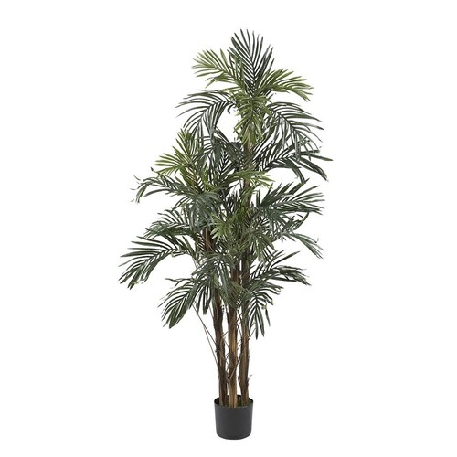nearly natural 5-ft. Silk Robellini Palm Tree
