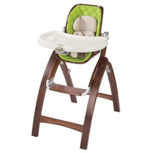 Summer Infant Baby Time Bentwood Portable Highchair, Green/Brown (22393)