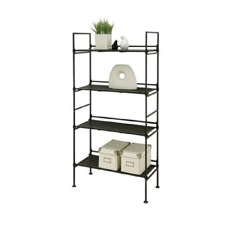Organize It All Ebonize 4-Tier Shelf In Espresso