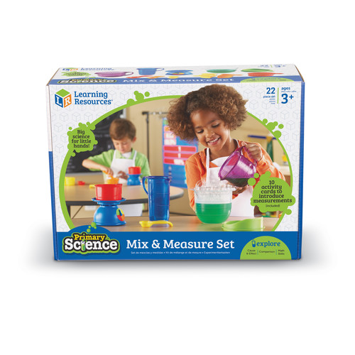 Learning Resources Primary Science Mix & Measure Set