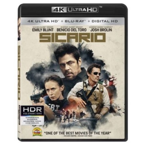 Sicario (4K Ultra HD + Blu-ray + Digital HD)