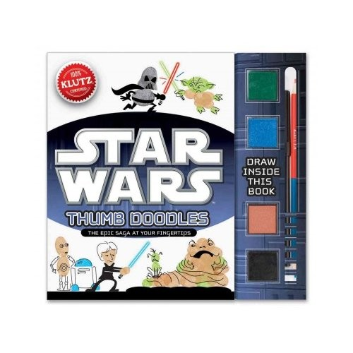 Klutz Star Wars Thumb Doodles Book Kit [Multicolor, None]