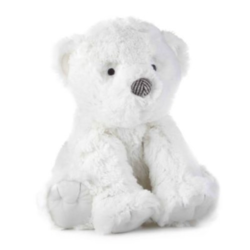 Levtex Baby Bailey Plush Bear Toy in White